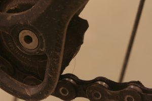Ødelagt trinsehjul