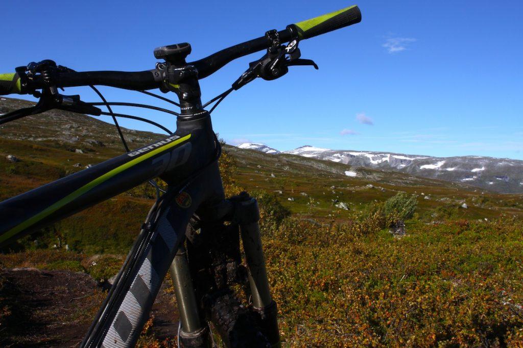 Sykkel med utsikt