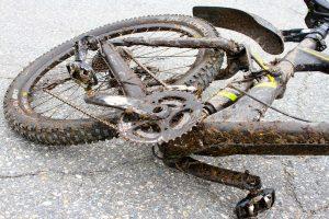 Skitten sykkel
