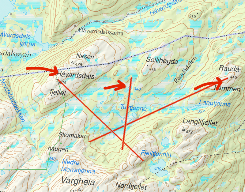 Kart triangel