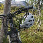 Sykkelen hviler også