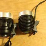 LED-lys sammenligning side