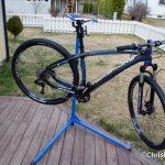 Sykkelen nesten klar for prøvetur