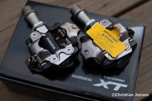 Shimano XT pedaler
