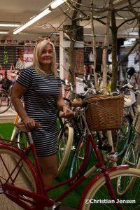 Anne Gro og hennes nye sykkel