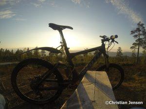 Glede med sykkel