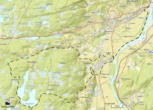 Byavatnet kart