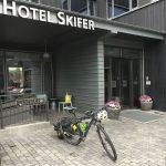 Avvreise fra Skifer hotell