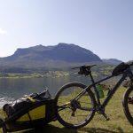 Sykkelen har klart seg til Vangsmjøset og