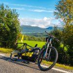 Sykkelen foran utsikten