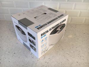 Ultralydvasker på kjøkkenbenken