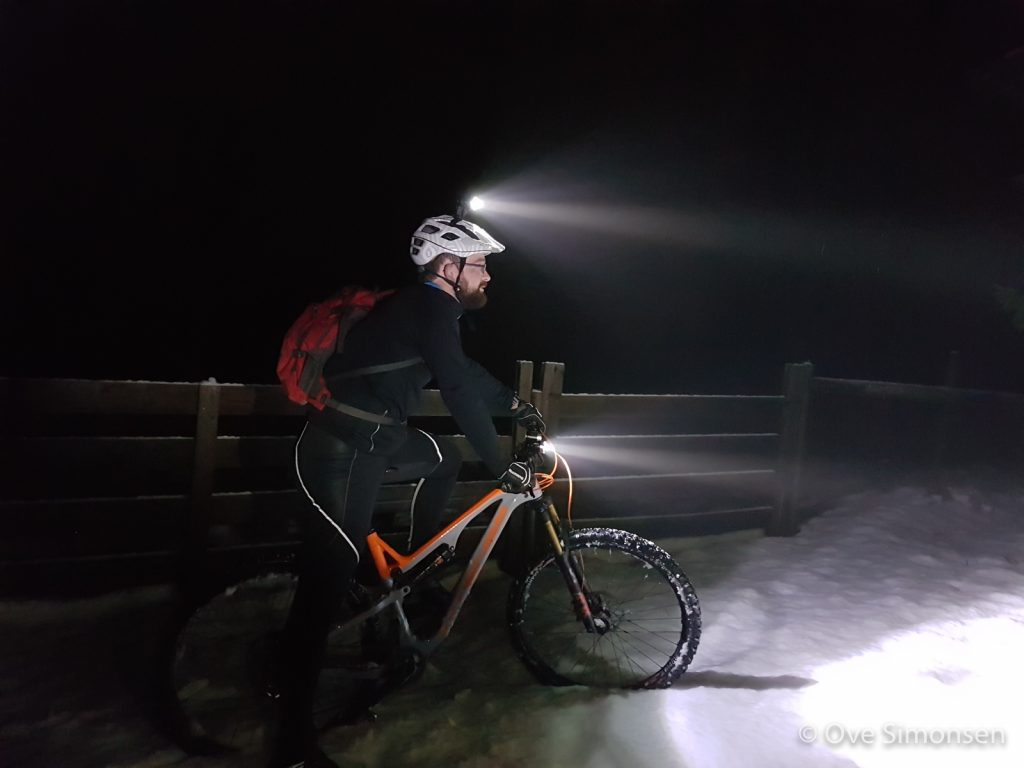 To lys i mørket<br />Fotograf: Ove Simonsen