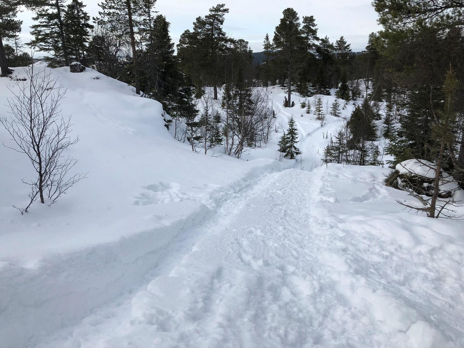 Sykkelveier om vinteren