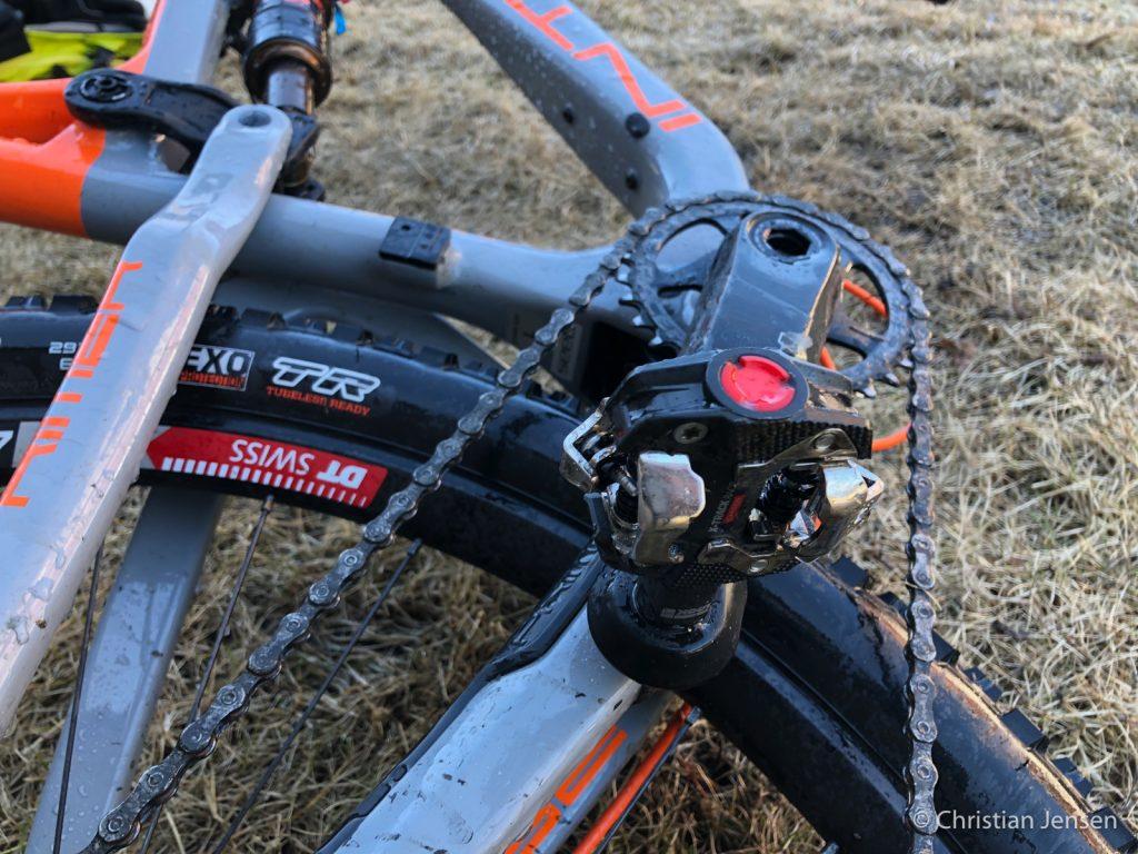 Look X-Track Race Carbon montert
