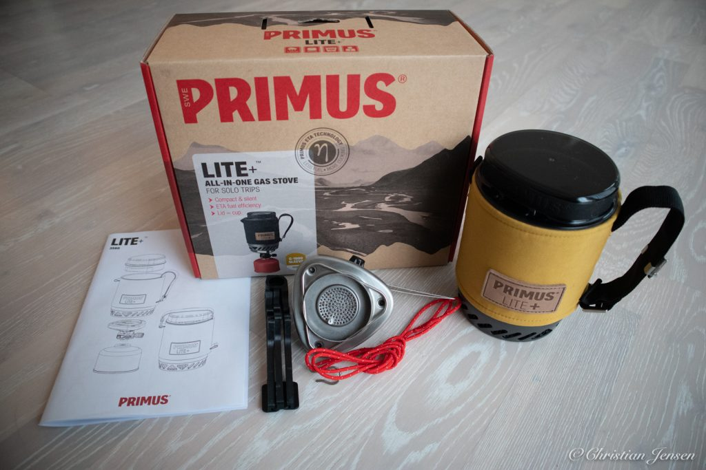 Primus Lite+ eske med innhold